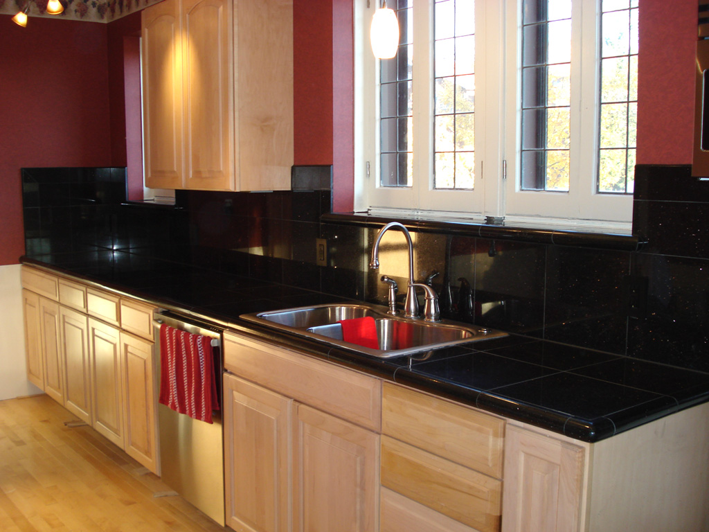 Marvelous Granite Kitchen Countertop. Galaxy Black Granite Part 11