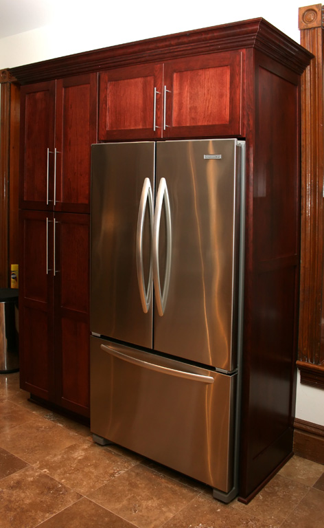 Built in Refrigerator Cabinets Built in Refrigerator