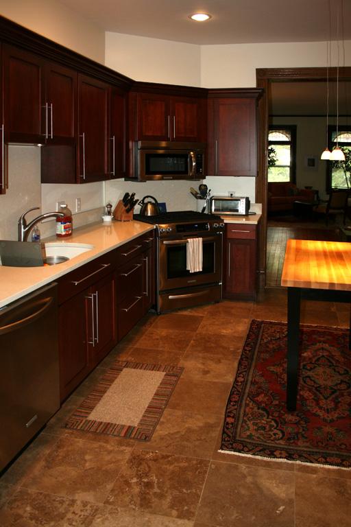 Explore St Louis Kitchen Cabinets Tile Installation Customer