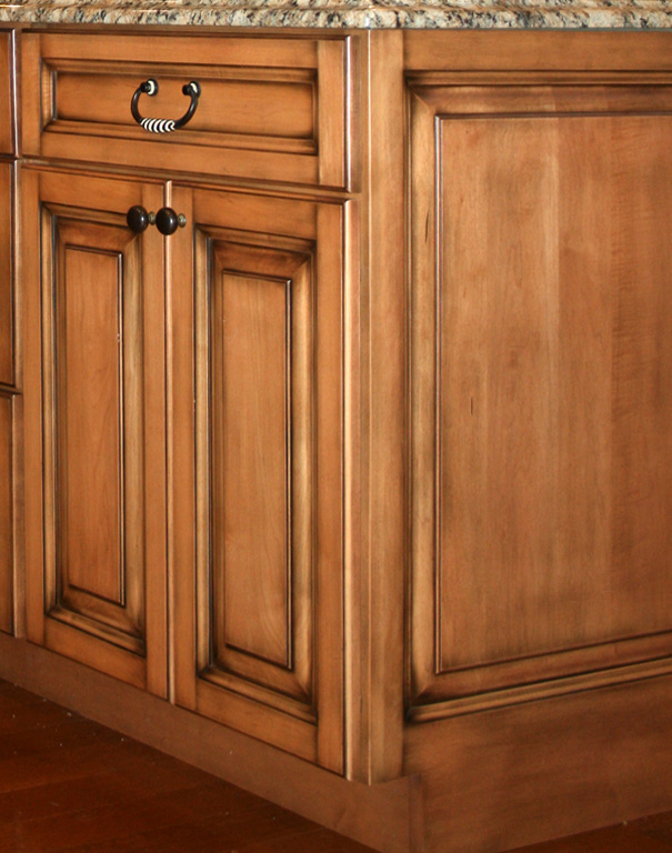 St louis kitchen cabinets kitchen design cabinet raised panel finished ends works of art - Kitchen door designs ...