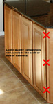 St Louis Kitchen Cabinets - Cabinet Raised Panel End