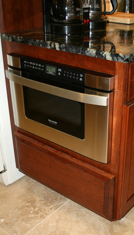 St Louis Kitchen Cabinets   Under Counter Microwave Kitchen Cabinet