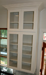 St Louis Kitchen Cabinets - Glass Door Display Wall Cabinet