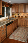 St Louis Kitchen Cabinets - Maple Kitchen Cabinets Burnt Sugar Glaze