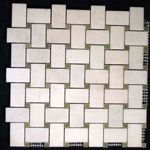 Mosaic Marble Tile St. Louis - Polished Marble Mosaic Tile Statuary White Verde Dot