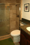 Bathroom Tile - Tile St. Louis Travertine Custom Shower