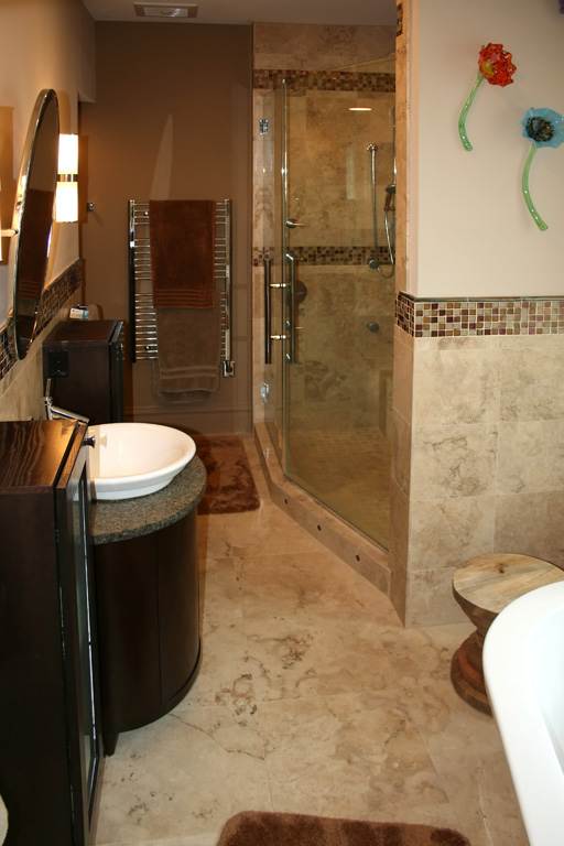 Outstanding Mosaic Tile Bathroom with Shower 512 x 768 · 113 kB · jpeg