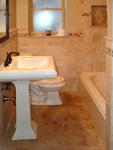 Shower Tile - Travertine Tile Tub Surround Tile Wainscot Tile Floor